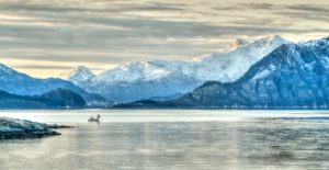 Norvegia baia Harstad