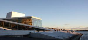 Oslo viaggio opera house