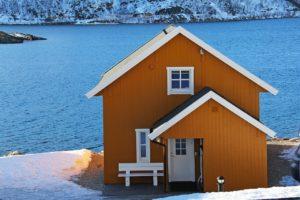 fiordo norvegia casa pescatori