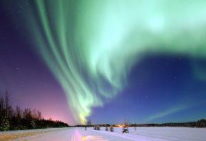 ROVANIEMI caccia all Aurora Boreale